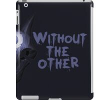 Without the other Wolf Kindred (part) iPad Case/Skin