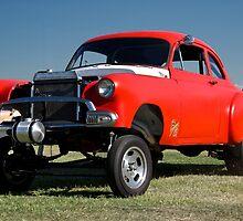 1951 Chevy 'Gasser' Drag Car by DaveKoontz