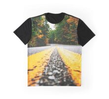 road on autumn Graphic T-Shirt
