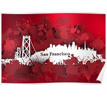 Stain San Francisco Poster