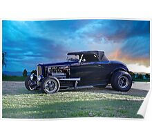 1932 Ford Hot Rod Roadster Poster