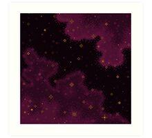 Garnet Universe Art Print