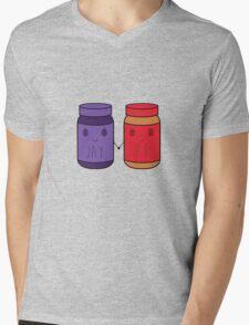 P.B & JAY Mens V-Neck T-Shirt