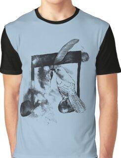 Music Painter - Blue Graphic T-Shirt