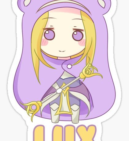 Lux Chibi Sticker