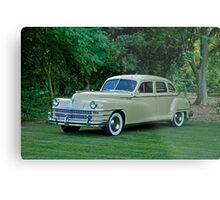1946 Chrysler Windsor Sedan Metal Print