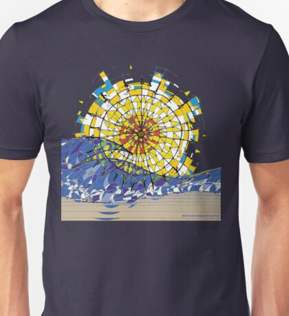Beach Sunrise Unisex T-Shirt