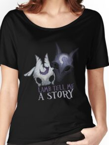 Lamb tell me a story Kindred Women's Relaxed Fit T-Shirt