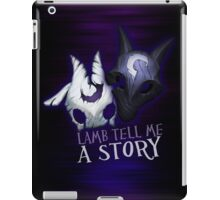 Lamb tell me a story Kindred iPad Case/Skin