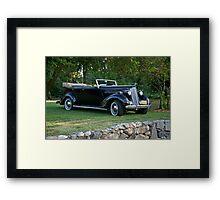 1936 Packard Convertible Sedan Framed Print