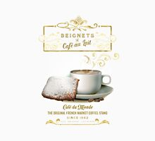 Cafe au Lait and Beignets Unisex T-Shirt