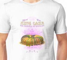Mardi Gras King Cake Unisex T-Shirt
