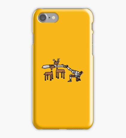 Epic Hunting - Gold iPhone Case/Skin