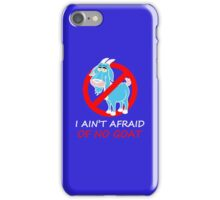 Bill Murray-I Ain't Afraid Of No Goat iPhone Case/Skin