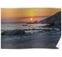 Gunwalloe Beach, Cornwall Poster