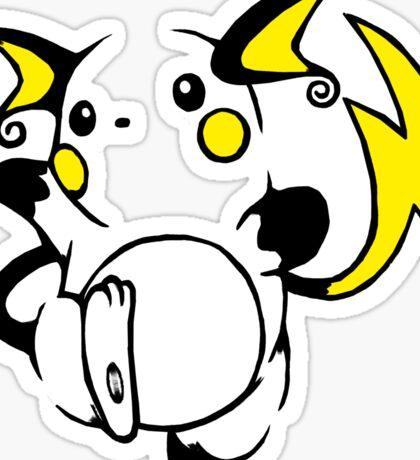 Raichu Sticker