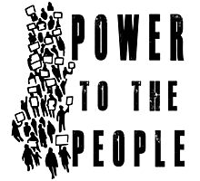 .Power to the People! Activist Protester Photographic Print