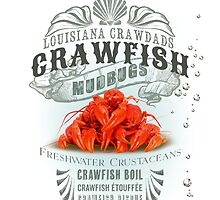 Louisiana Crawfish by midnightboheme