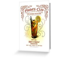 Pimm's Cup Greeting Card