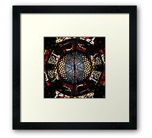 COVENTRY CATHEDRAL WINDOWS MONTAGE Framed Print