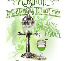 Absinthe the Green Fairy by midnightboheme