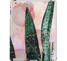 Plant circles & triangles iPad Case/Skin