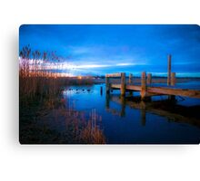 End of the Pier Canvas Print
