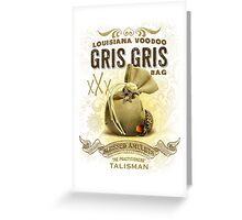 Gris Gris Voodoo Bag Greeting Card