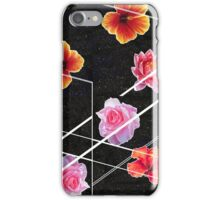 Space Flowers iPhone Case/Skin