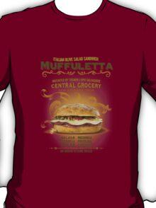 Muffuletta Sandwich T-Shirt