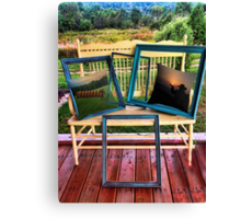 FRAMES & BONITA'S REDBUBBLE PILLOWS WITH A VIEW PICTURE AND OR CARD Canvas Print