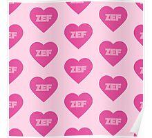 Die Antwoord Style ZEF Design. Poster
