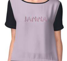 Janna Chiffon Top