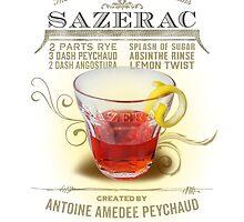 Historic Sazerac Cocktail by midnightboheme