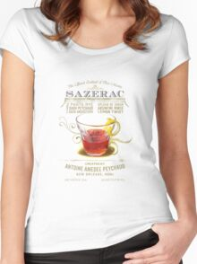 Historic Sazerac Cocktail Women's Fitted Scoop T-Shirt