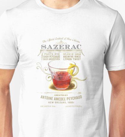 Historic Sazerac Cocktail Unisex T-Shirt