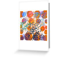 Abstract composition 475 Greeting Card