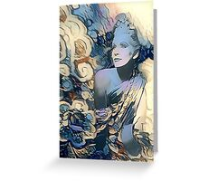 angie bowie Greeting Card
