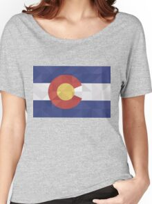 Fractal Colorado  Women's Relaxed Fit T-Shirt