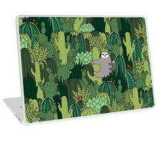 Cactus Sloth Laptop Skin