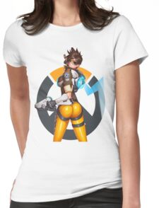 OVERWATCH TRACER Womens Fitted T-Shirt