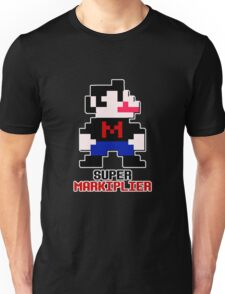 SUPER MARKIPLIER Youtuber Jack Septic Eye Mario Video youtube Unisex T-Shirt