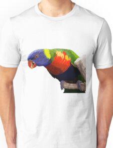 Colorful Parrot Unisex T-Shirt