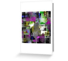Vivid Texture Greeting Card