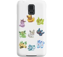 Teenies - Shiny Eeveelutions! Samsung Galaxy Case/Skin