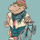 Hipster Hippo by BlancaJP