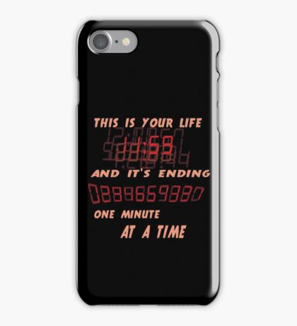 Fight Club This is Your Life and It's Ending One Minute at a Time iPhone Case/Skin