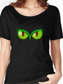 Halloween Eyes T-shirt Women's Relaxed Fit T-Shirt