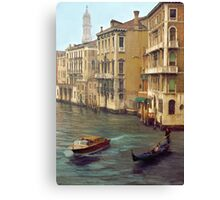 Venice Portrait Canvas Print