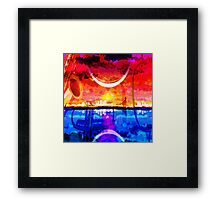 THE CRESCENT CITY Framed Print